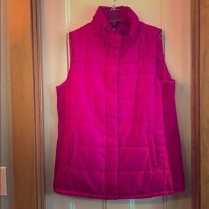 EUC Striking Pink Motherhood Maternity Vest Sz Med